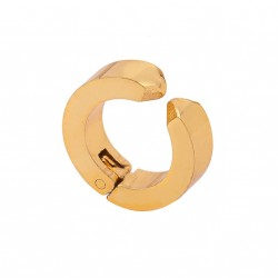 BOLD GOLD STAINLESS STEEL EARRINGS