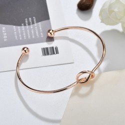 ΒΡΑΧΙΟΛΙ THE KNOT ROSE GOLD