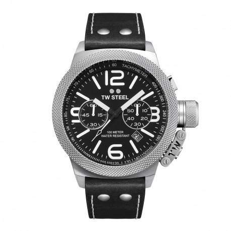 TW STEEL CANTEEN chronograph black dial CS4
