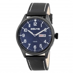 ΡΟΛΟΪ 3GUYS DAY-DATE blue dial 3G52007