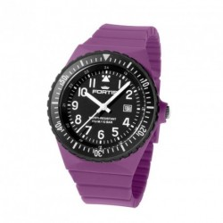 FORTIS COLORS UNISEX purple silicone strap