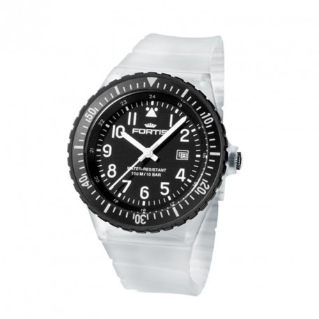 FORTIS COLORS UNISEX transperent silicone strap
