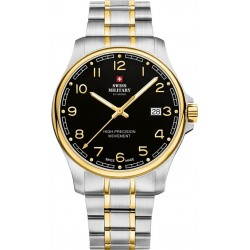 SWISS MILITARY by CHRONO Men΄s two-tone stainless steel bracelet