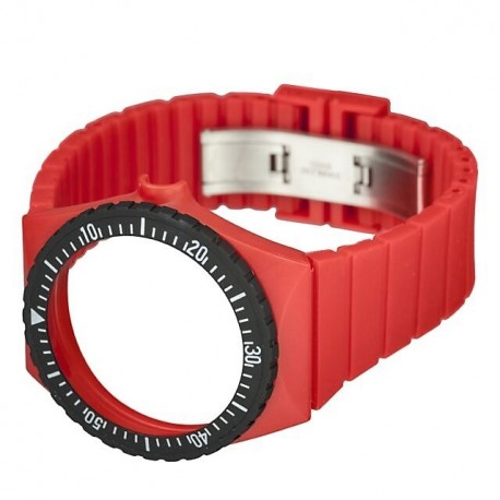 FORTIS COLORS RED silicone strap C03