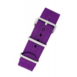 PURPLE FABRIC NATO STRAP