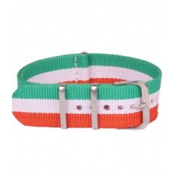MULTICOLOR NATO FABRIC STRAP