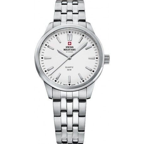 SWISS MILITARY by CHRONO Ladies stainless steel bracelet SMP36010.02