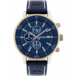 TIMBERLAND WOODWORTH Chronohgraph - blue leather strap TBL15952JYTG/02