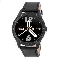 3GUYS SMARTWATCH black rubber strap - Bluethooth call 3GW3021