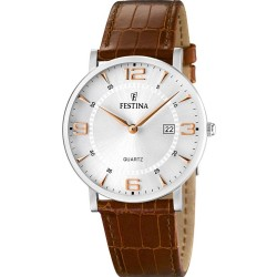 FESTINA CLASSIC brown leather strap F16476/4