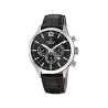 FESTINA CHRONOGRAPH black leather strap F20542/5