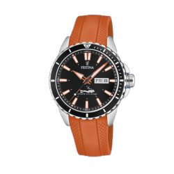 FESTINA DIVERS Red rubber strap F20378/5