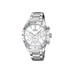 FESTINA DIAMOND CHRONOGRAPH stainless steel bracelet F20397/1 - ΔΩΡΟ ΑΤΣΑΛΙΝΟ ΒΡΑΧΙΟΛΙ