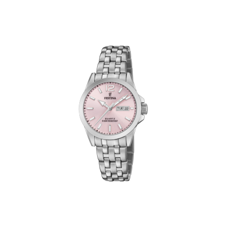 FESTINA DAY-DATE PINK dial F20455/2