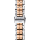 TISSOT T-Lady Flamingo Ladies two-tone rose gold stainless steel bracelet T094.210.22.111.00
