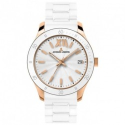JACQUES LEMANS ROME SPORTS UNISEX rose gold case 1-1622R