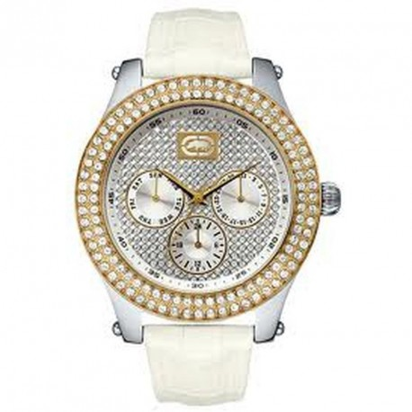 MARC ECKO THE GOLD SMALL chronograph with swarosvki crystals E13001M2