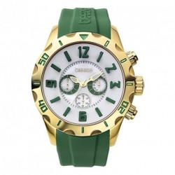 BREEZE CALIFORNIA DREAM chrono green rubber strap