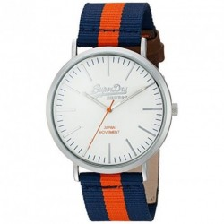 SUPERDRY OXFORD two-tone fabric strap SYG183UO