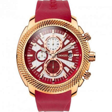 BREEZE PACIFIC HYPE burgundy rubber strap 110331.3