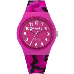 SUPERDRY URBAN cameo rubber strap SYL176PB