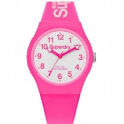 SUPERDRY URBAN pink rubber strap
