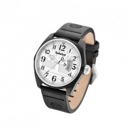 TIMBERLAND SHERINGTHON black leather strap 13679JLBS04