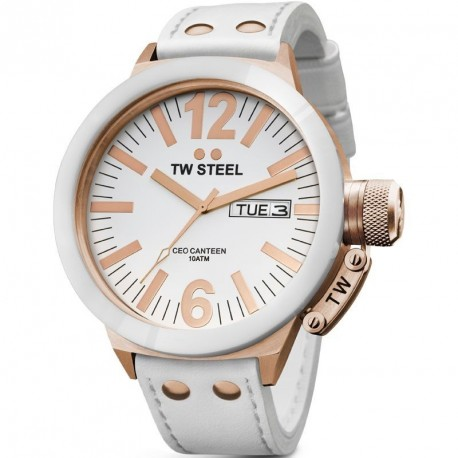 TW STEEL CEO CANTEEN CERAMIC rose gold case CE1035