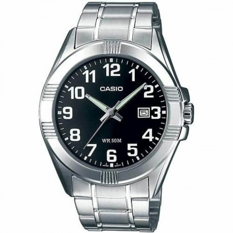 CASIO COLLECTION BLACK DIAL MTP-1308PD