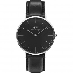 DANIEL WELLINGTON CLASSIC BLACK SHEFFIELD silver DW00100133