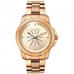 BREEZE SUPERNOVA rose gold stainless steel