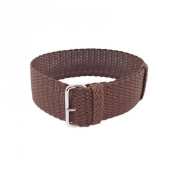 BROWN PERLON STRAP Nr 20