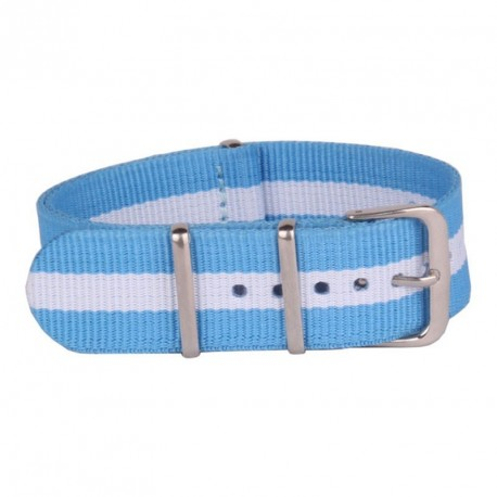 LIGHT BLUE NATO FABRIC STRAP