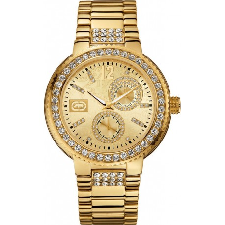 "MARC ECKO ""THE COOL gold stainless steel bracelet"