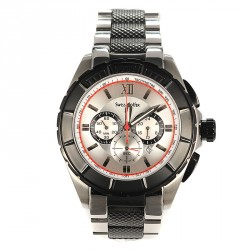 SWISS GOLFER stainless steel chronograph TM458