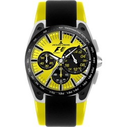 JACQUES LEMANS FORMULA 1 COLLECTION BARCELONA yellow dial F5033G