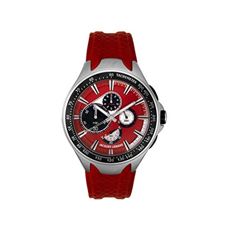 JACQUES LEMANS FORMULA 1 COLLECTION MONTE CARLO red dial F5016C