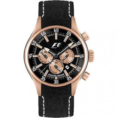 JACQUES LEMANS FORMULA 1 COLLECTION MONZA rose gold F5034H