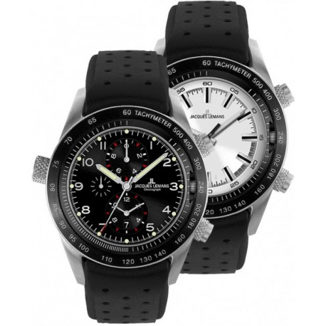 JACQUES LEMANS TURNABLE chronograph