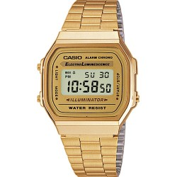 Casio Vintage collection Gold stainless steel A168WG-9EF