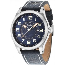 TIMBERLAND TILDEN blue leather strap 14644JS-03