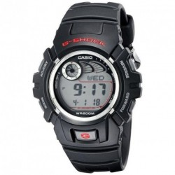CASIO G-SHOCK black rubber strap G-2900F-1VER