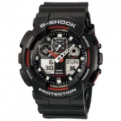 CASIO G-SHOCK CHRONOGRAPH black rubber strap