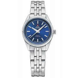 SWISS MILITARY by CHRONO Ladies blue dial