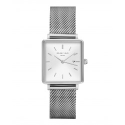 ROSEFIELD THE BOXY white sunray mesh bracelet QWSS-Q02