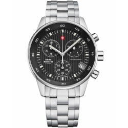 SWISS MILITARY by CHRONO Mens stainless steel bracelet SM30052.01