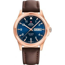 SWISS MILITARY by CHRONO Mens Blue dial SM34071.08