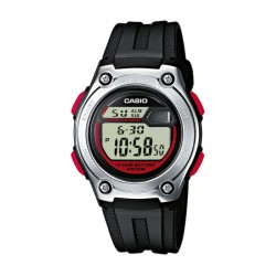 CASIO Collection black rubber W-211-1BVES