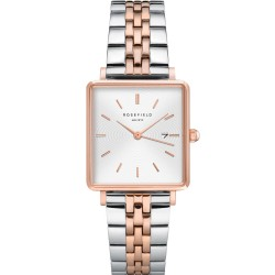 ROSEFIELD THE BOXY two-tone stainless steel QVSRD-Q014