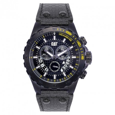 CAT chronograph black strap